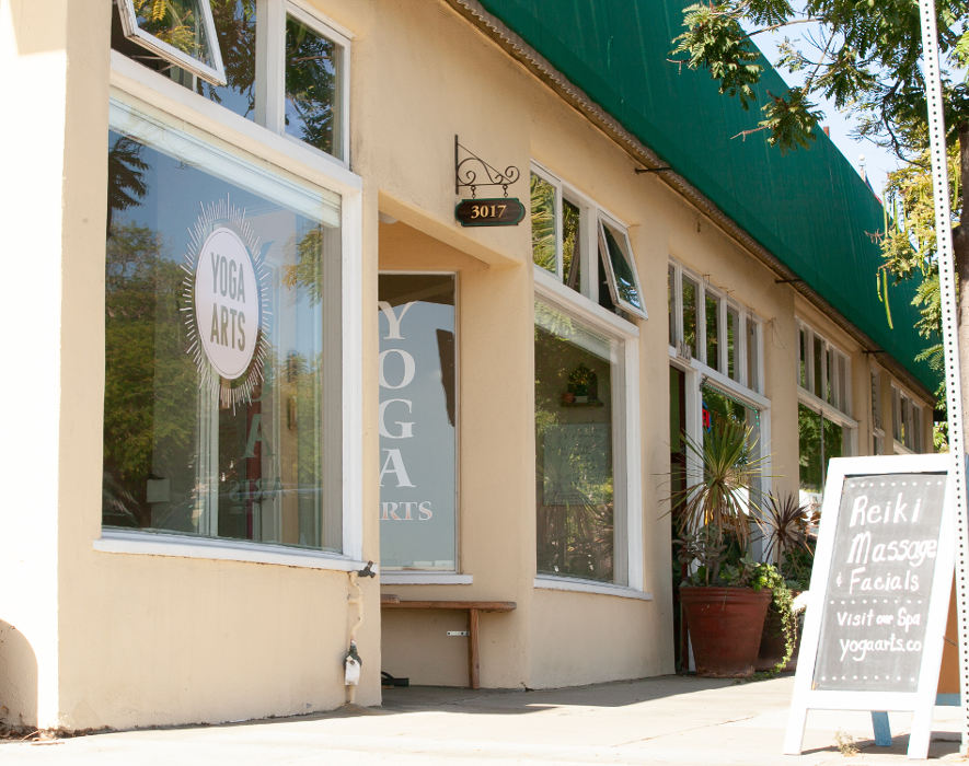 Entrance to Yoga Arts